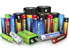 Batteries for flashlights