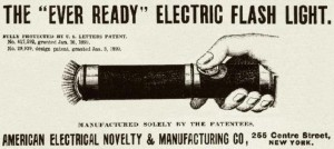 An Ever Ready ad from 1899