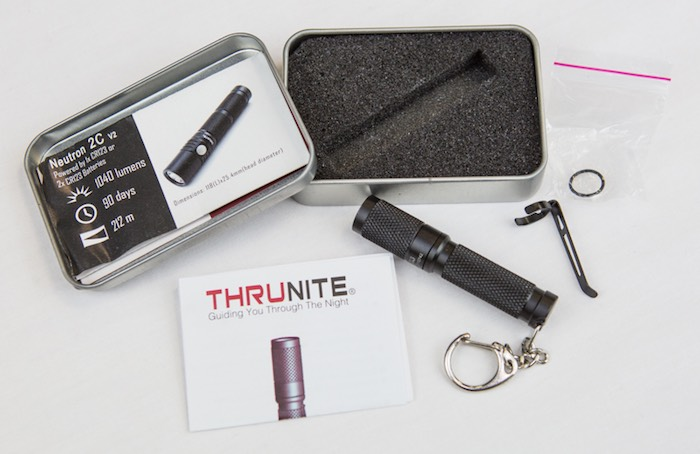 ThruNite Ti3 review - packaging