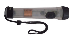The Shake Light 40 is an example of what is a Faraday flashlight